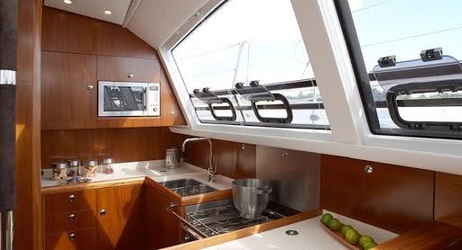 Камбуз на яхте — Sailica